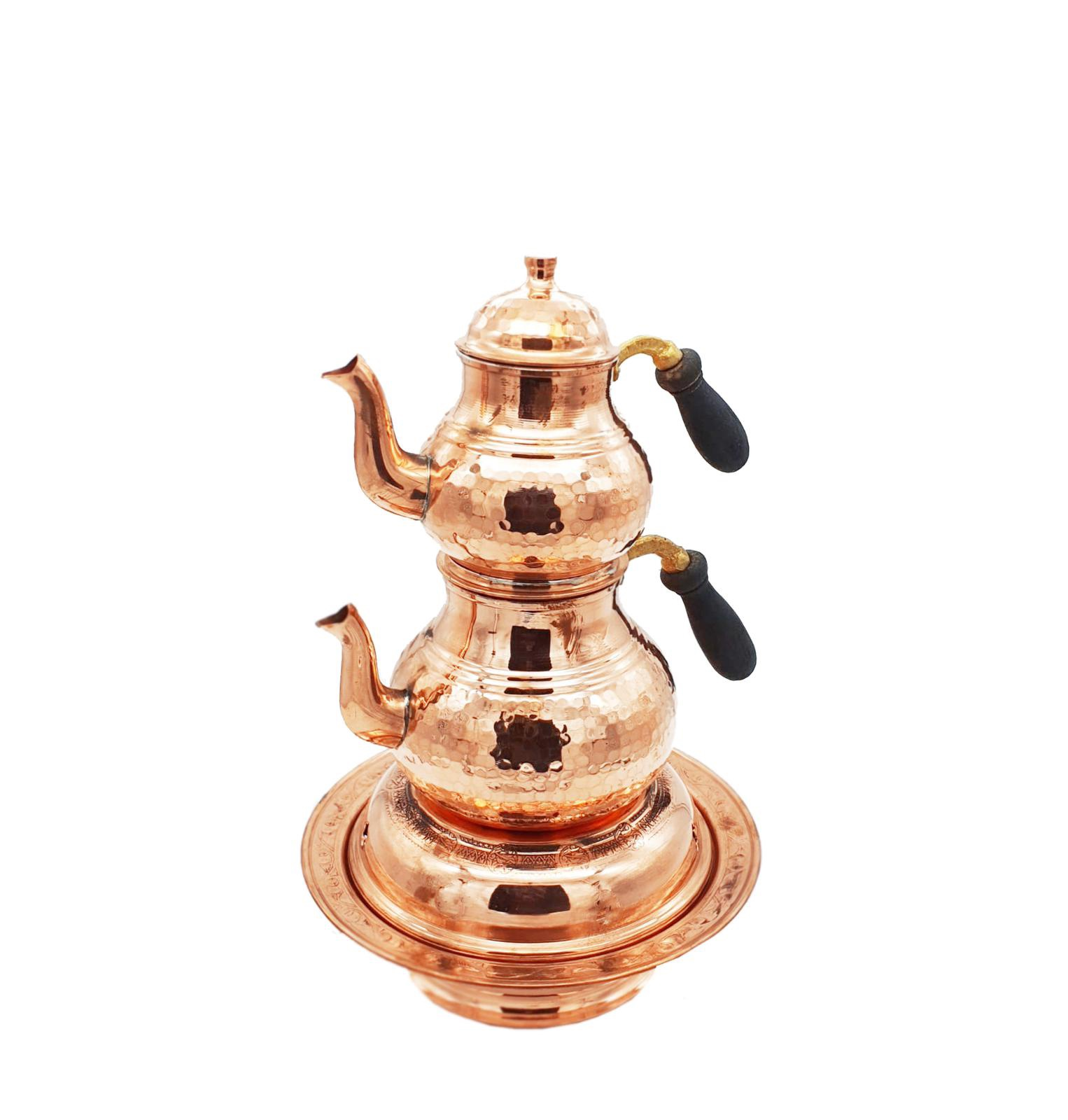 Buy Turkish Tea Pot with Candle Warmer - Large