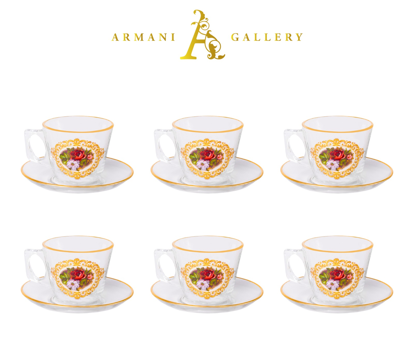 Buy Turkish Floral Coffee Mug Set
