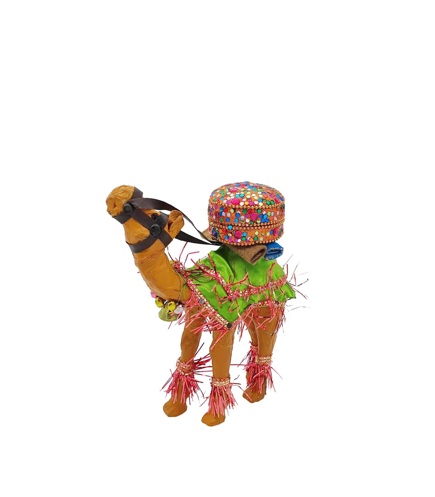 Buy Camel with Supplies Handmade - 19cm