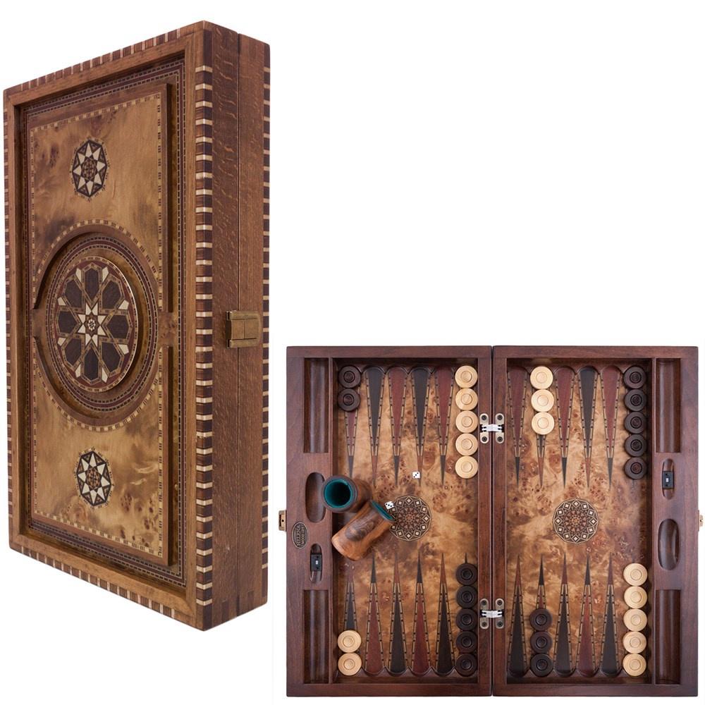 Buy Genius Carved Big Backgammon 2171MAZ