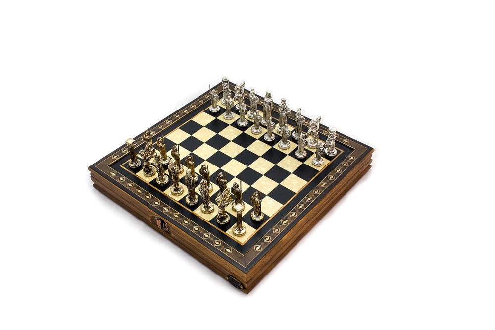 Buy Chess Table with Cover 2616BLK
