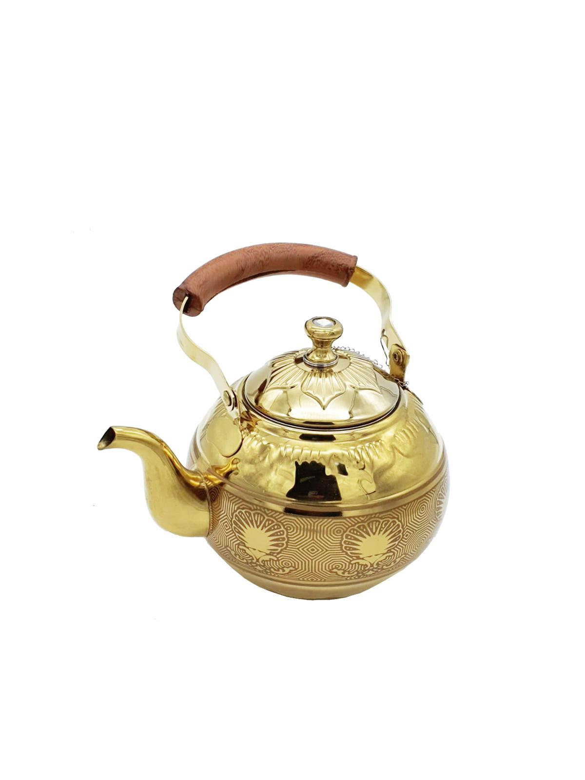 Buy Tea Pot with Wooden Handle