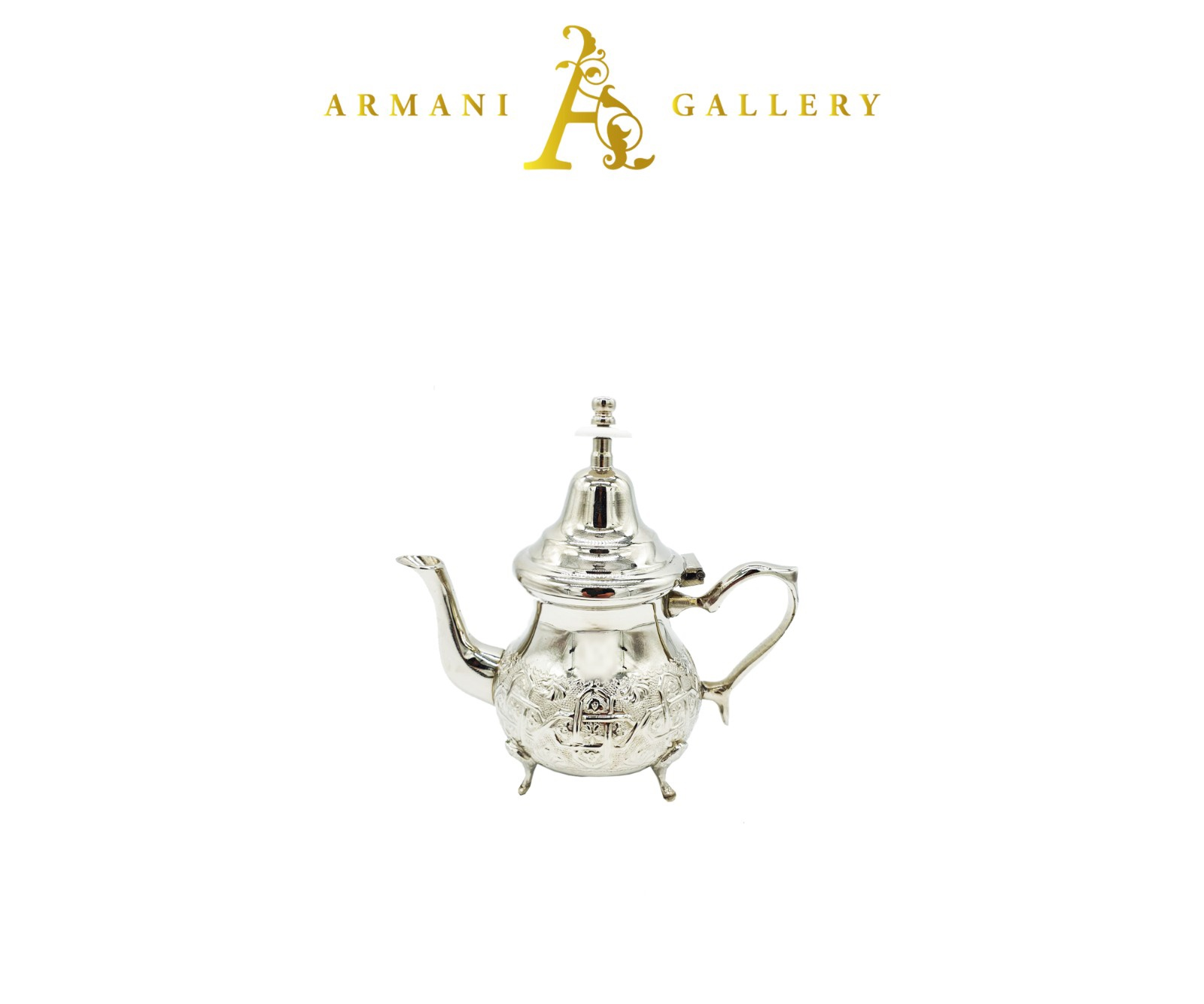 Buy Moroccan Silver Tea Pot - Medium
