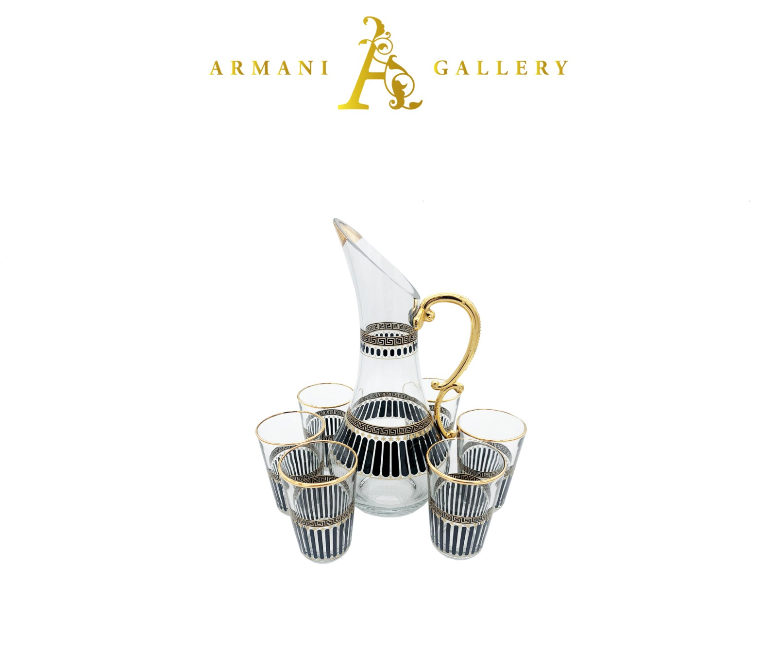 Buy Turkish 7 Piece Jug & Glass Set - 084