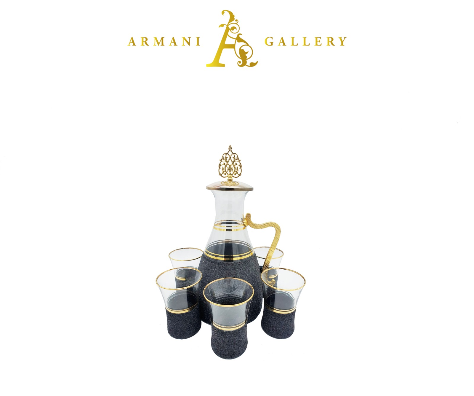 Buy Turkish 7 Piece Jug & Glass Set - 087