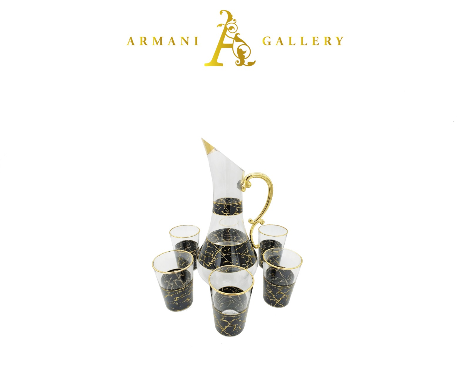 Buy Turkish 7 Piece Jug & Glass Set - 093