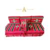 Buy Arabian Floor Lounge Set - Red