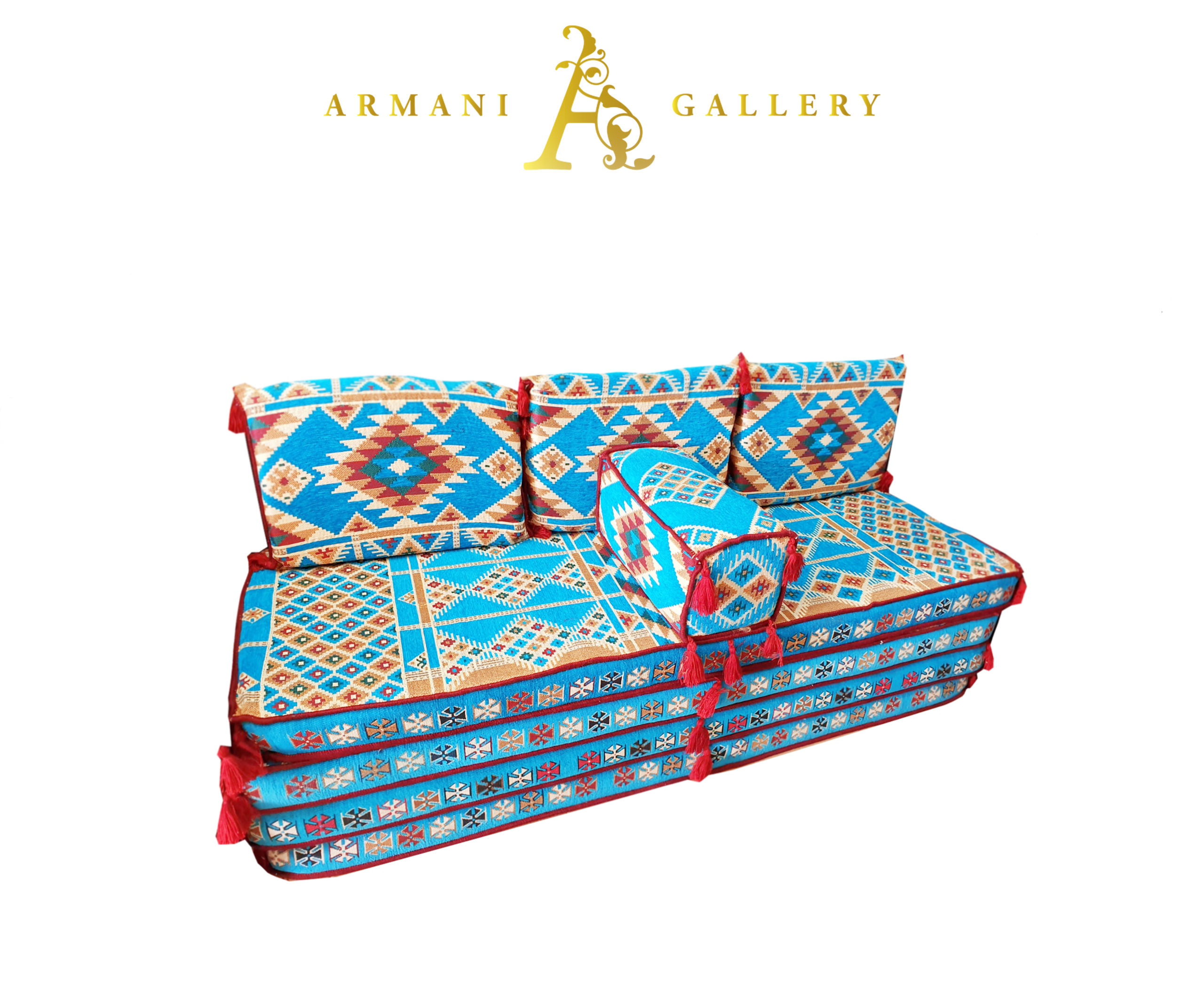 Buy Arabian Floor Lounge Set - Blue
