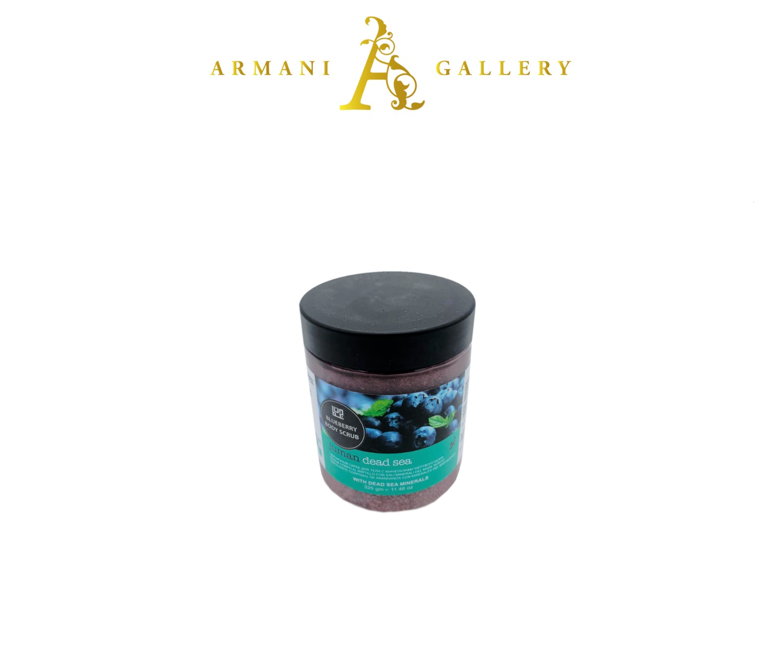Buy Blueberry Body Scrub with Dead Sea Minerals