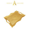 Buy Gold Serving Tray - Curved