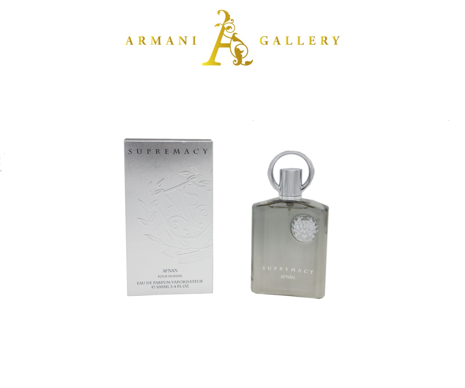 Buy Stunning Afan Perfume Supremacy Silver Cologne Men Eau De Perfurm Bottle 100ml