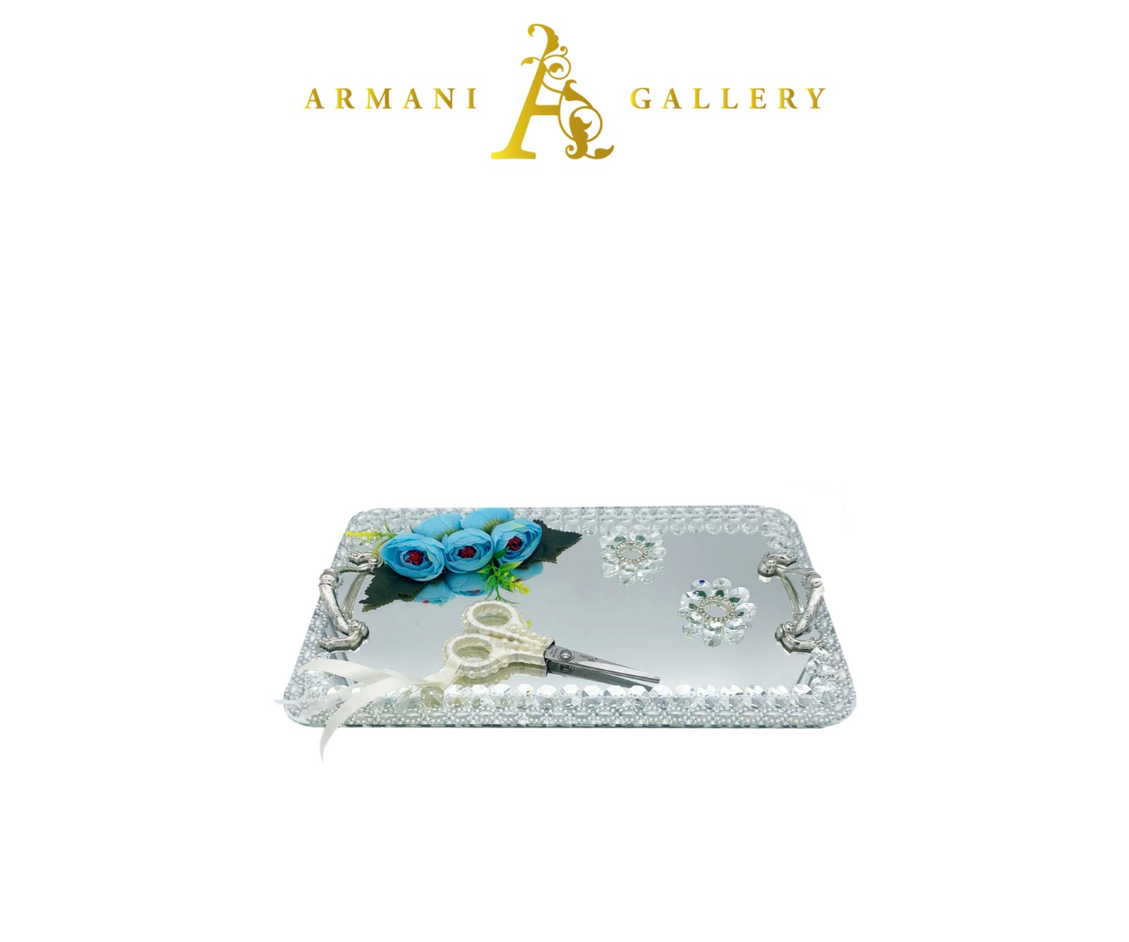 Buy Silver Engagement Tray - Rectangle