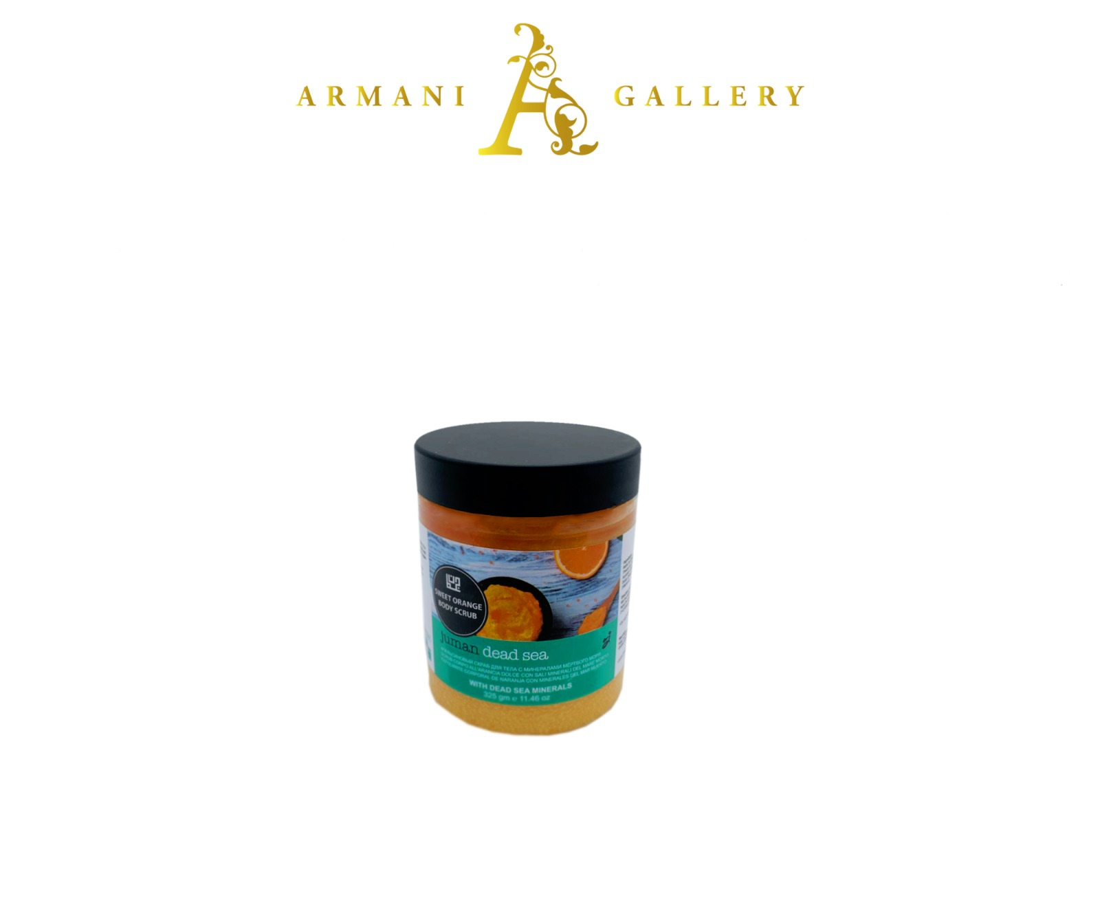 Buy Sweet Orange Body Scrub with Dead Sea Minerals