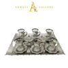 Buy Turkish Silver Tea Cup Set