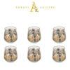 Buy Turkish Arch Drinking Glass Set