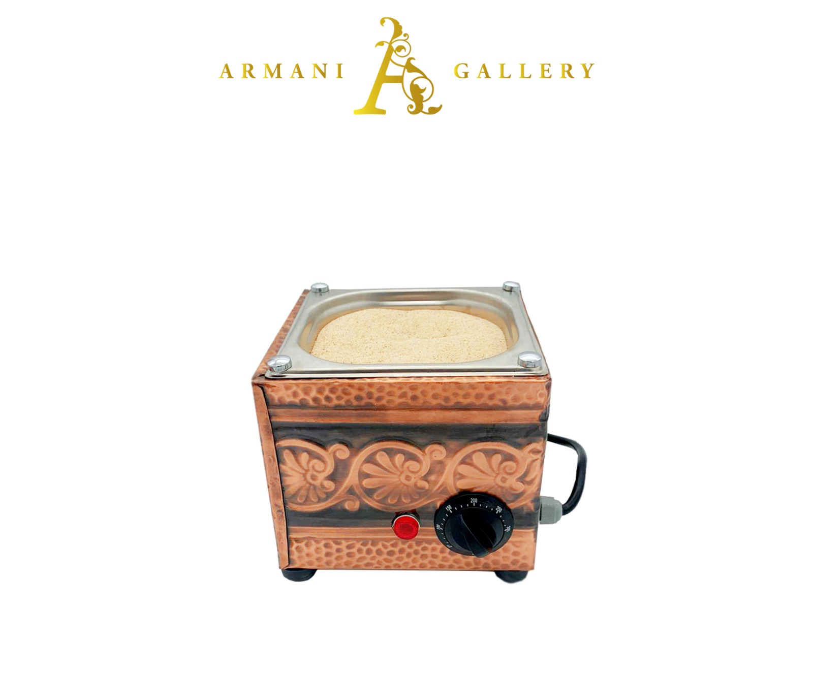 Buy Turkish Electric Red Copper Hot Sand Coffee Maker
