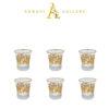 Buy Turkish Gold Versace Drinking Glass Set