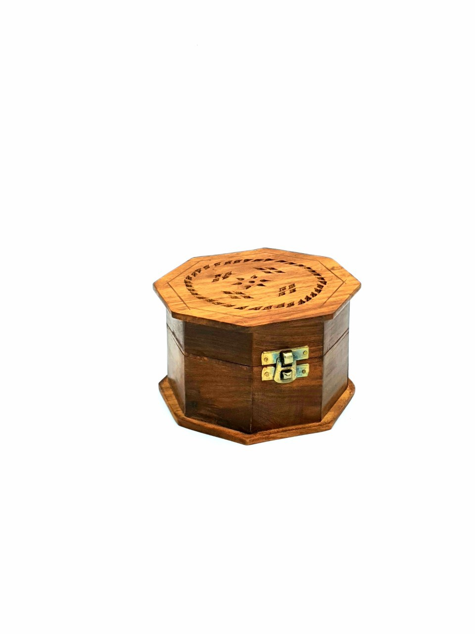 Buy Wooden Octagon Incense Burner
