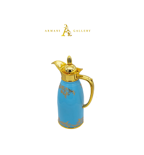 Buy Thermos - Blue & Gold