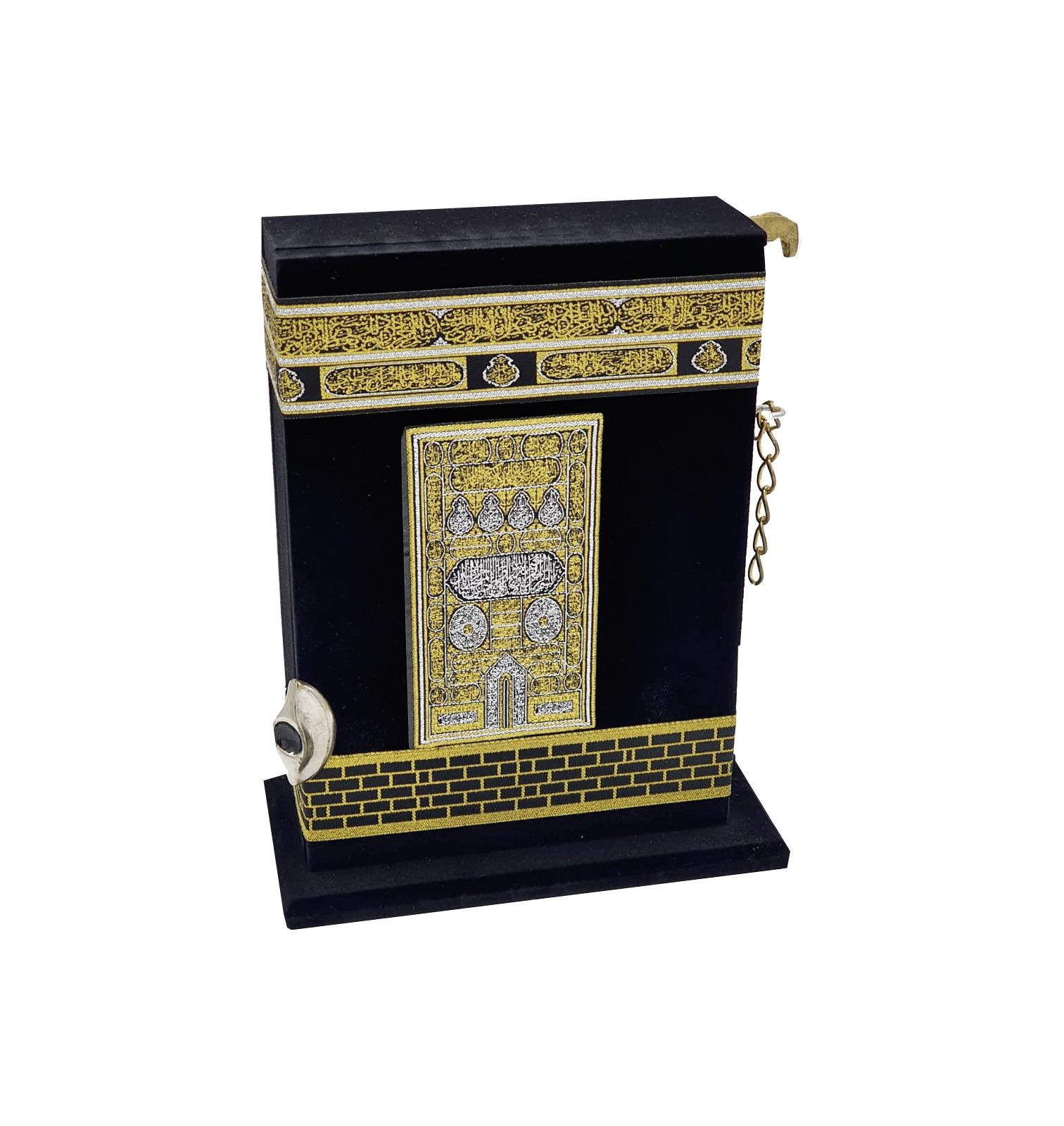 Buy Holy Quran in Kaaba Replica Stand