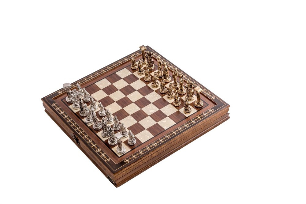 Buy Chess Table with Cover 2616WAL