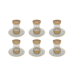 Buy Turkish Gold Premium Tea Cup & Saucer Set