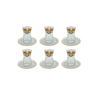 Buy Turkish Versace Medusa Tea Cup & Saucer Set