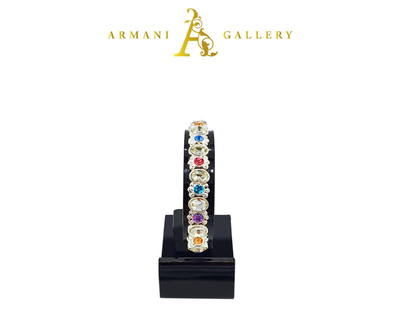 Buy Stone & Diamond Bracelet - Multicoloured