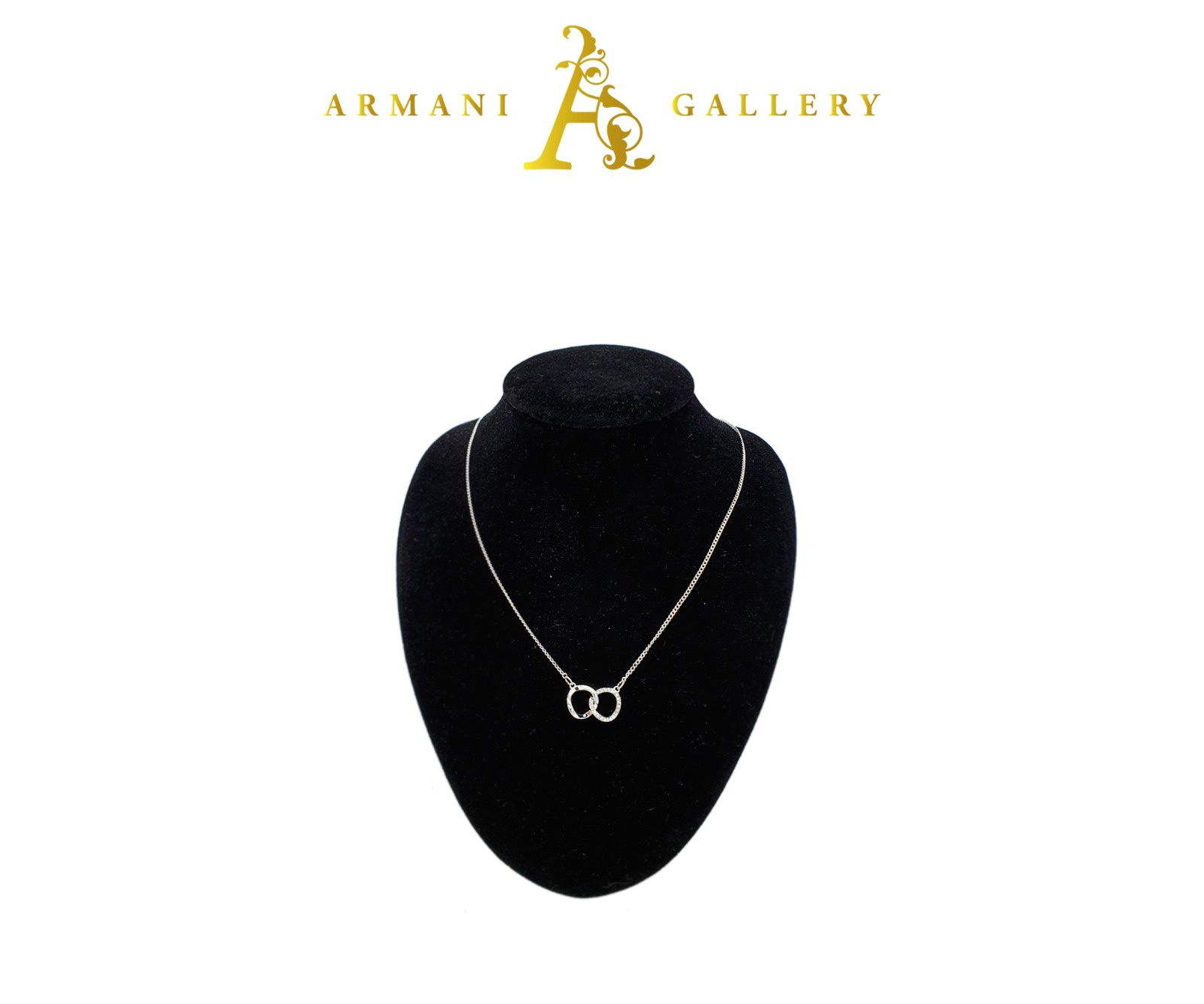 Buy Chain Linked Necklace - Silver