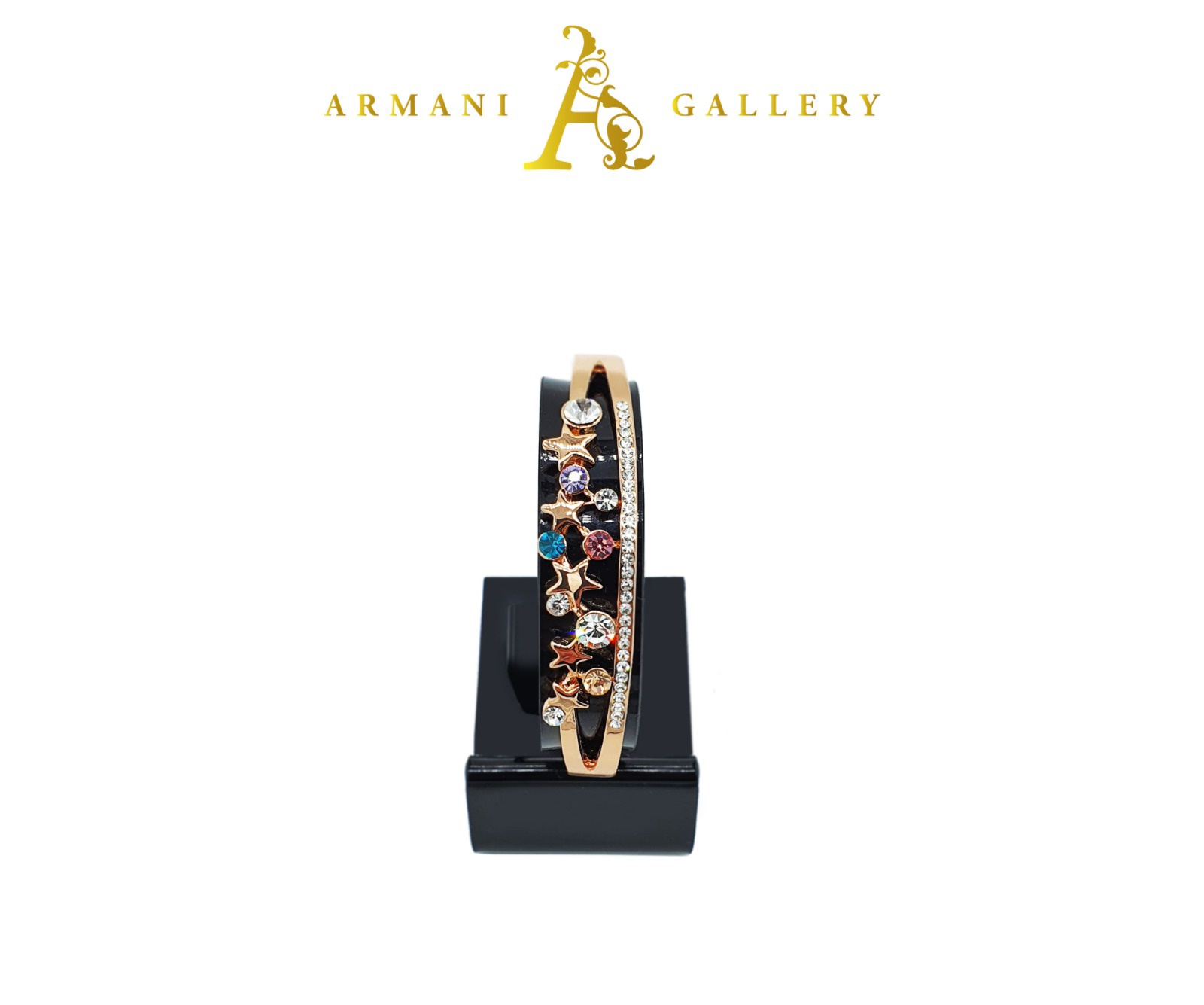 Buy Mini Stars & Diamonds Bracelet - Rose Gold