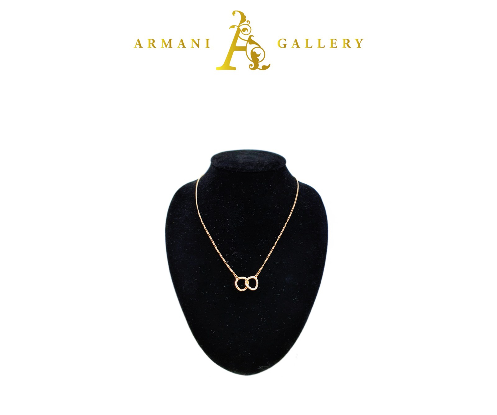 Buy Chain Linked Necklace - Rose Gold