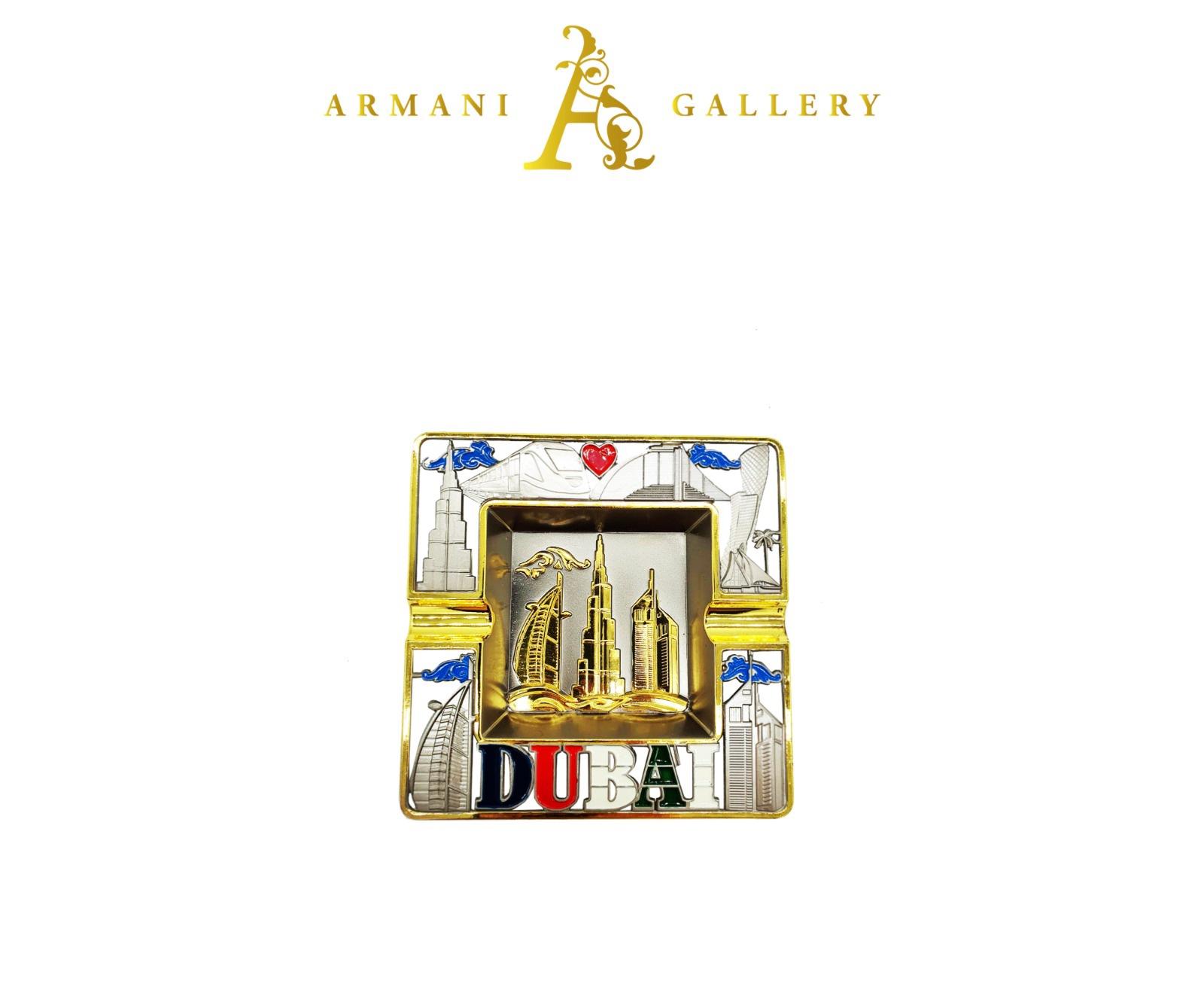 Buy Dubai Square Ashtray - Silver