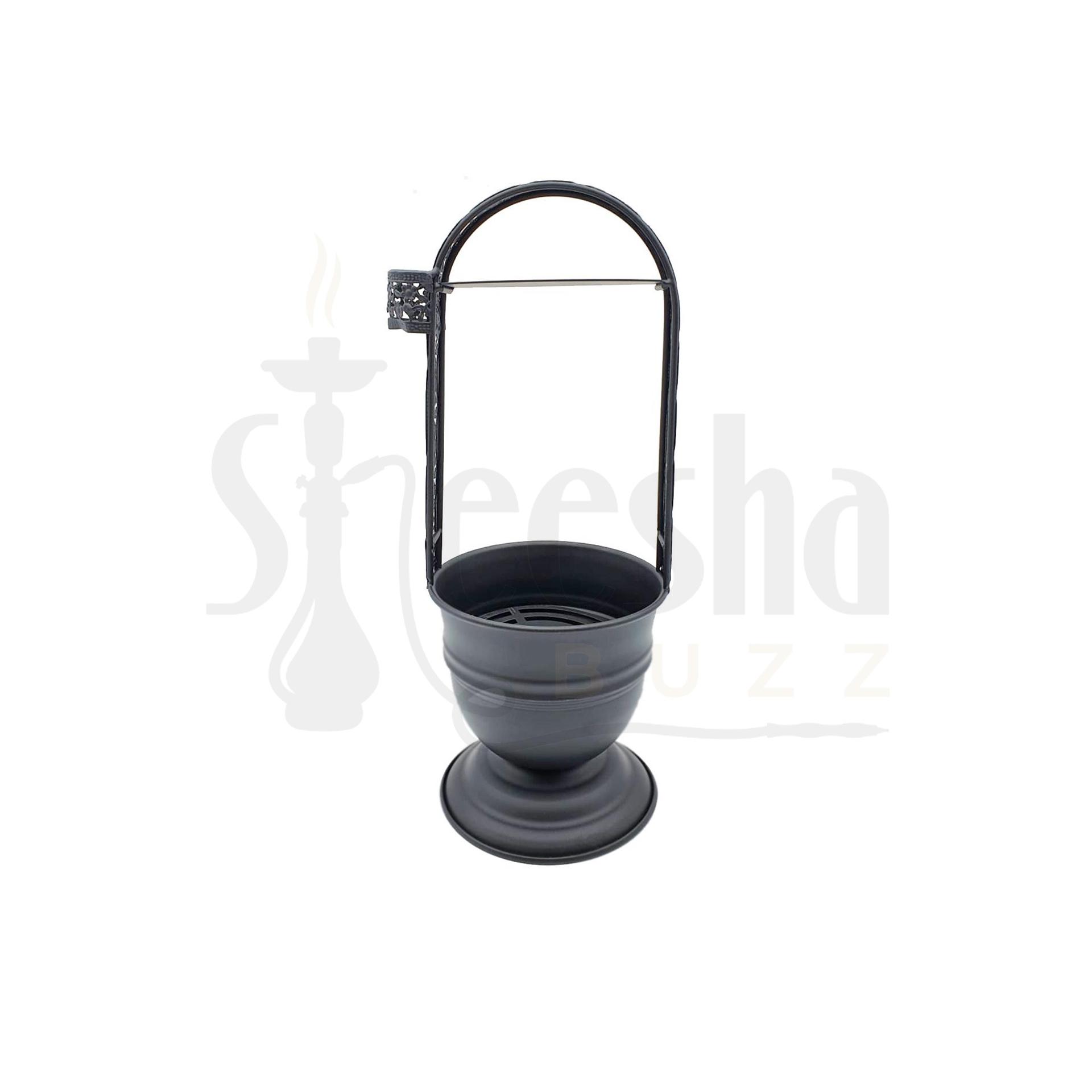 Buy Iron Charcoal Holder Black Large