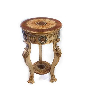 Buy Arabian Side Table - Brown