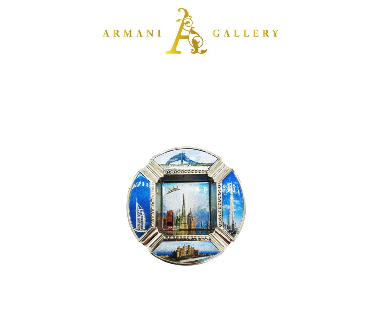 Buy Dubai Round Ashtray - Blue