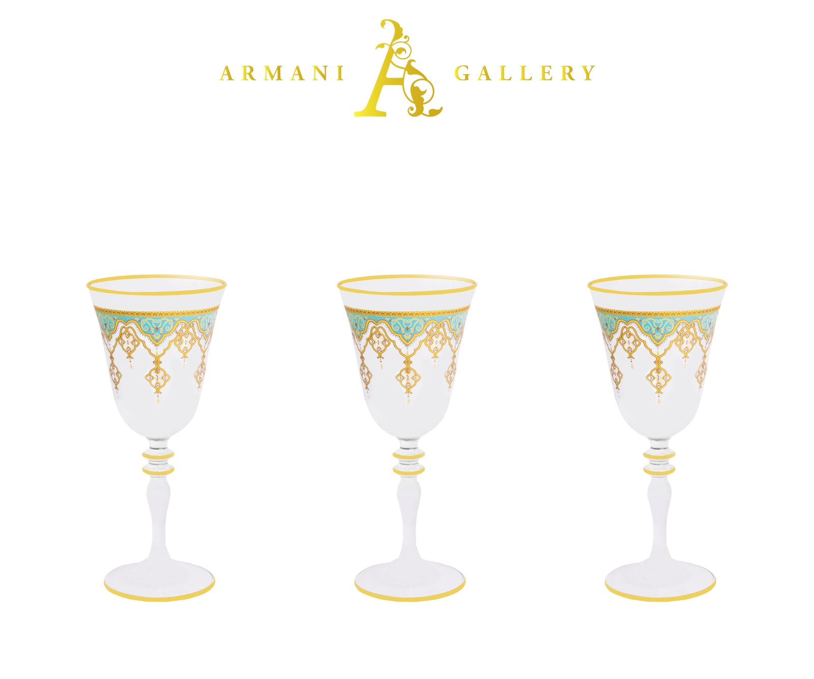 Buy Turkish Moroccan Tall Cocktail Glass Set