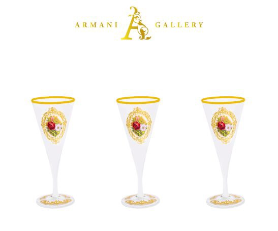 Buy Turkish Floral Cocktail Glass