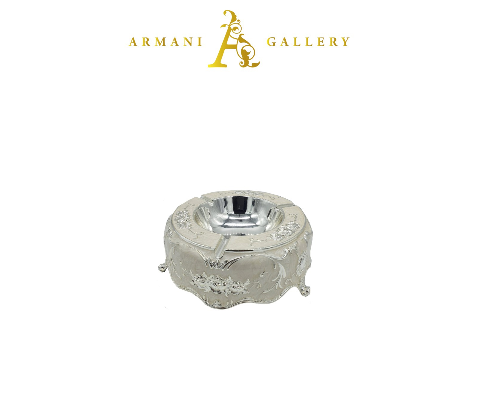 Buy Ornament Ashtray - Silver