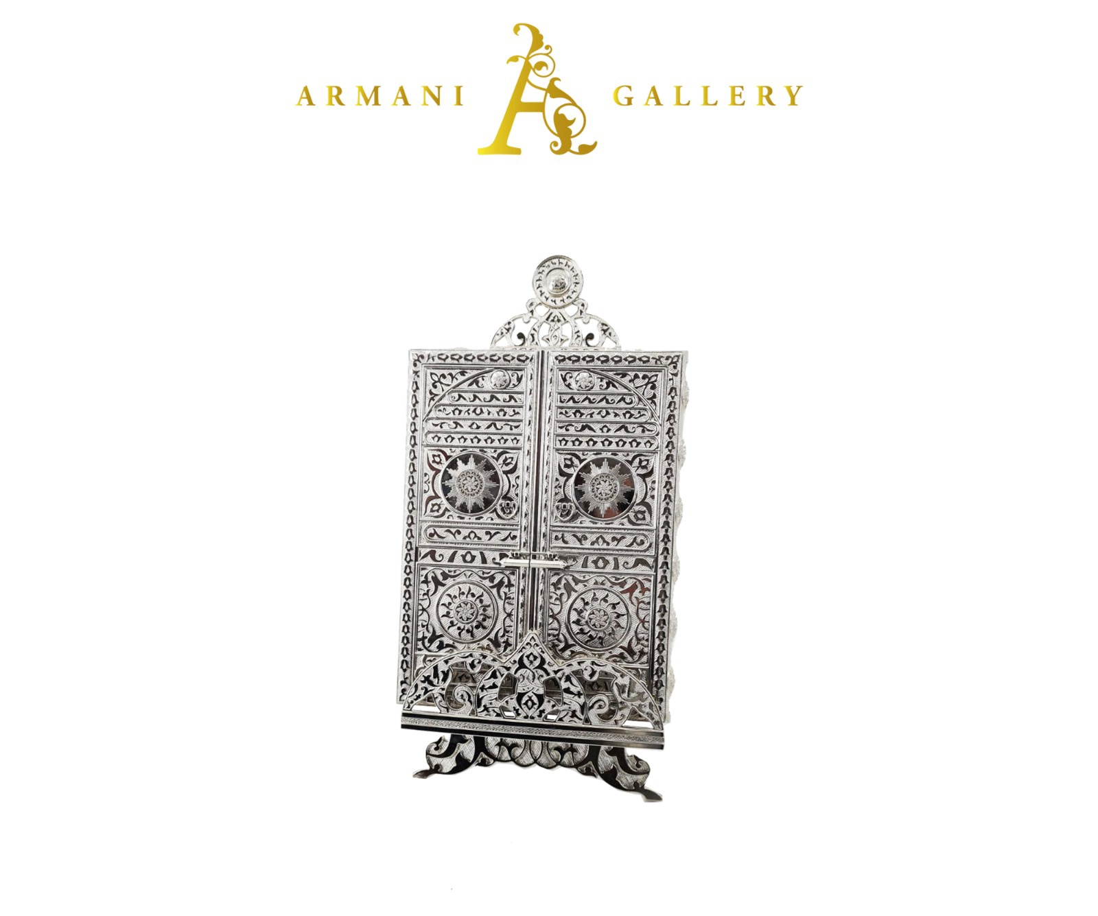 Buy Silver Holy Quran Case - Quran Included
