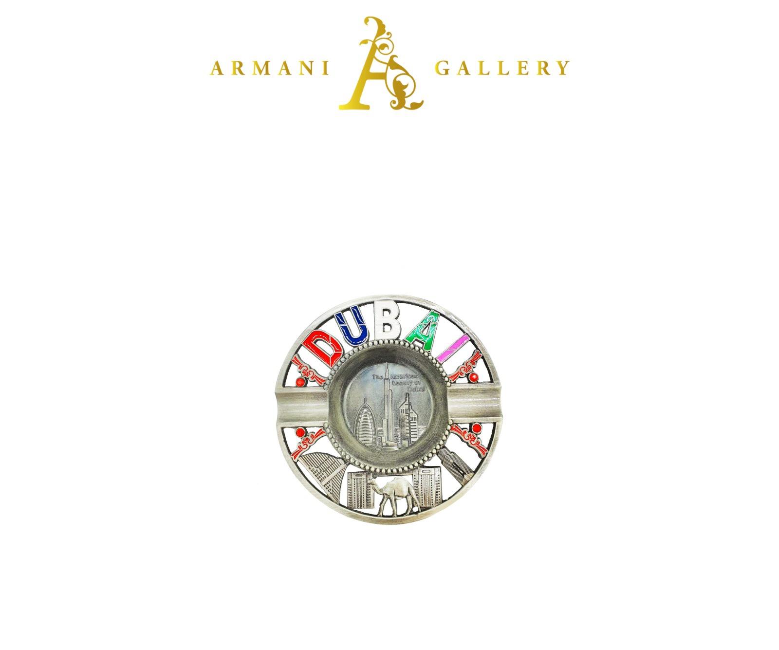Buy Dubai Round Ashtray - Silver