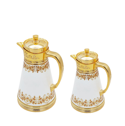 Buy Victorian 2 Piece Thermos Set - White & Gold