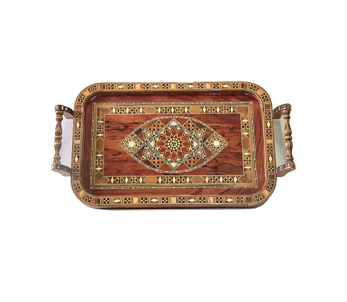 Buy Wooden Rectangle Serving Tray