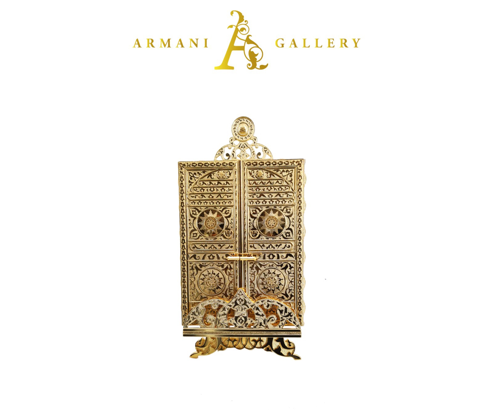 Buy Gold Holy Quran Case - Quran Included