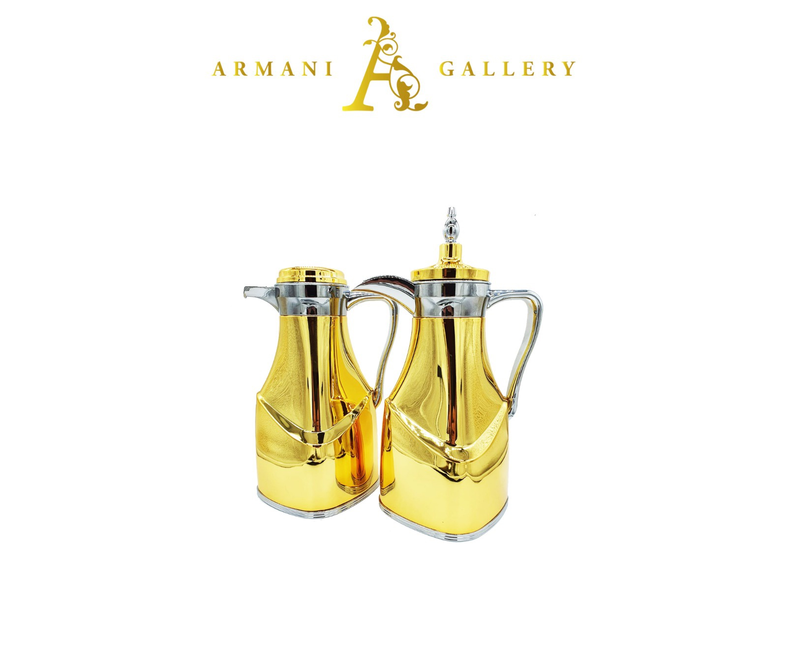 Buy 2 Piece Thermos - Gold & Silver