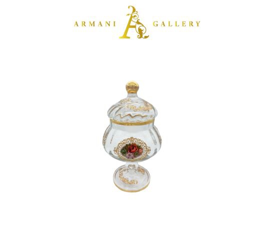 Buy Turkish Floral Small Vase Canister
