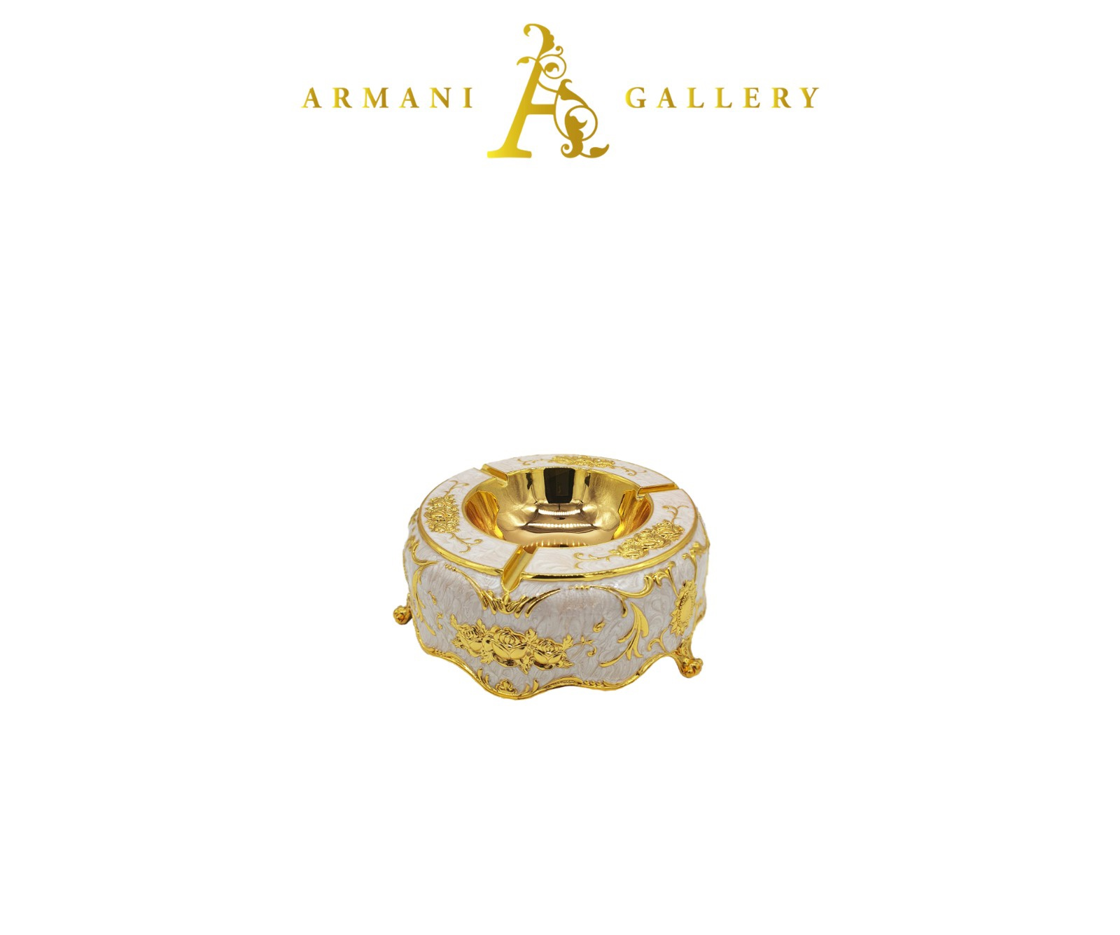 Buy Ornament Ashtray - Gold