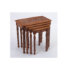 Buy Brown Wooden Nest of Tables - Style 1