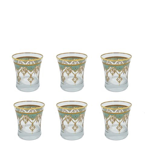 Buy Turkish Moroccan Tumbler Glass Set