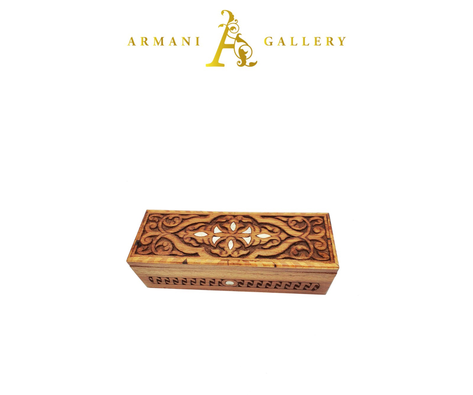 Buy Rectangle Wooden Jewellery Box - S2