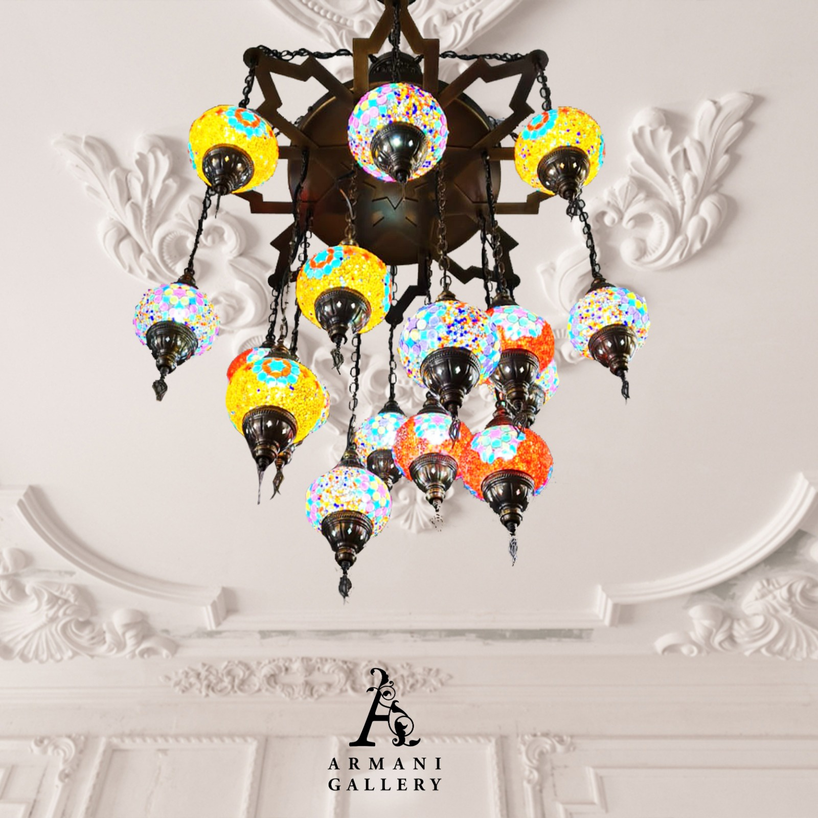 Buy Turkish Ceiling Chandelier SR-7